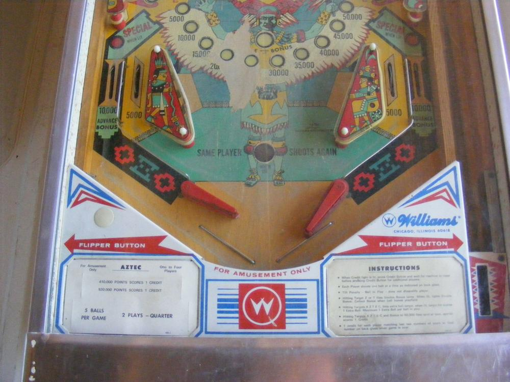 Williams 1976 'Aztec' Lower Playfield Day One