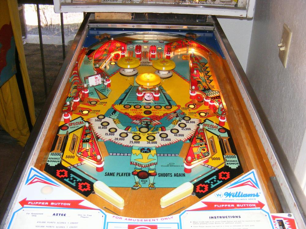 Full Playfield After All Clear Coats and Plastics Installed
