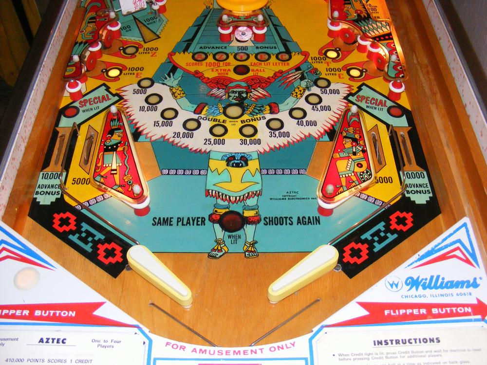 Lower Playfield After All Clear Coats and Plastics Installed