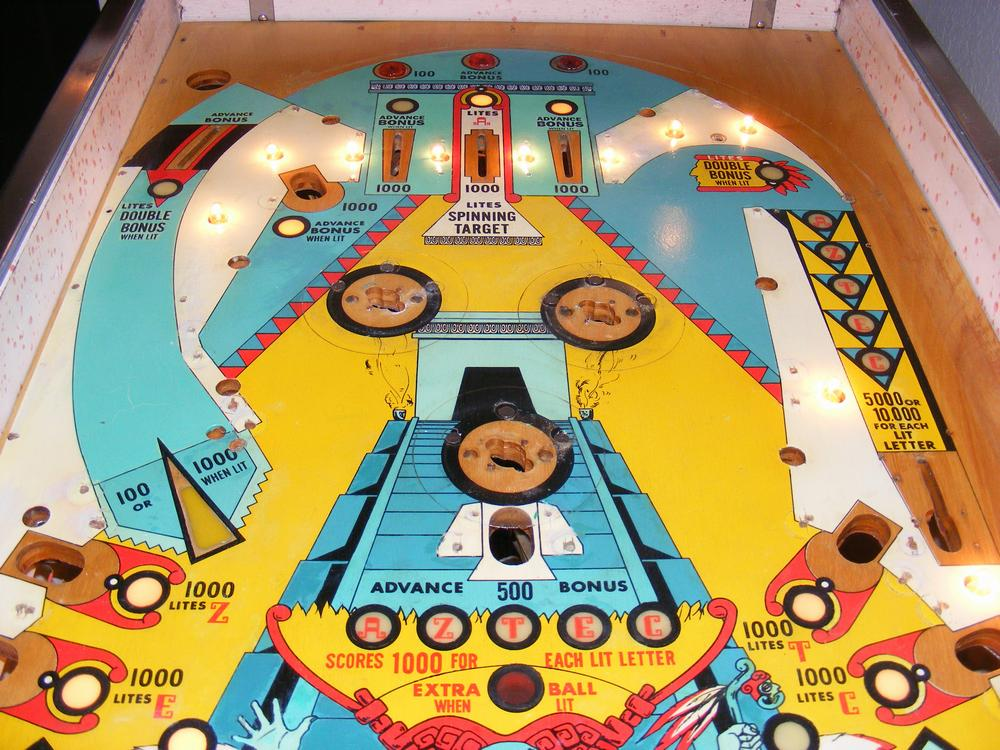 Upper Playfield After All Clear Coats