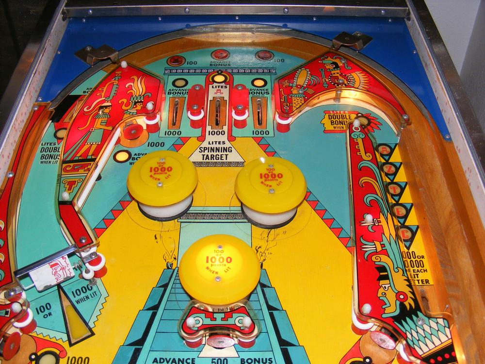 Upper Playfield After All Clear Coats and Plastics Installed