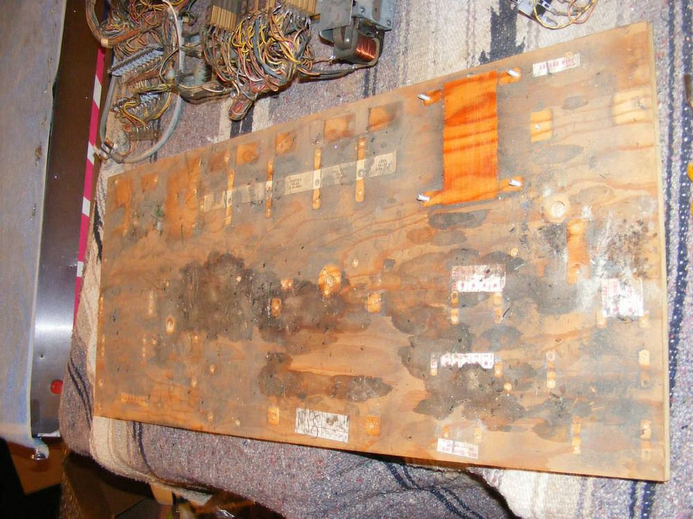 Williams 1971 'Klondike' Mech Board Without Mechs Shows the Mess