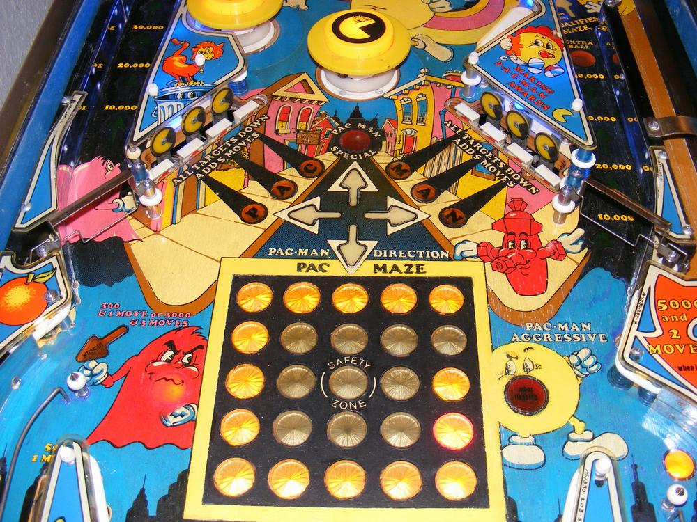 1982 Bally Mr. & Mrs. Pac-Man